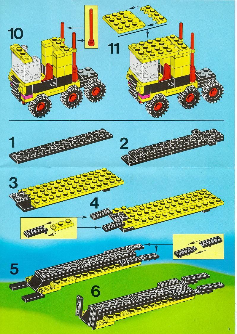 Town Car Repair Shop Lego 1966 Camion Lego Instructions Lego Books Lego
