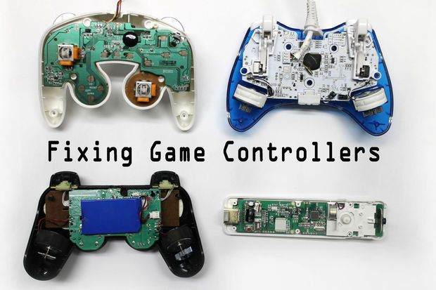 Fix Any Video Game Controller DIY Pinterest Game controller