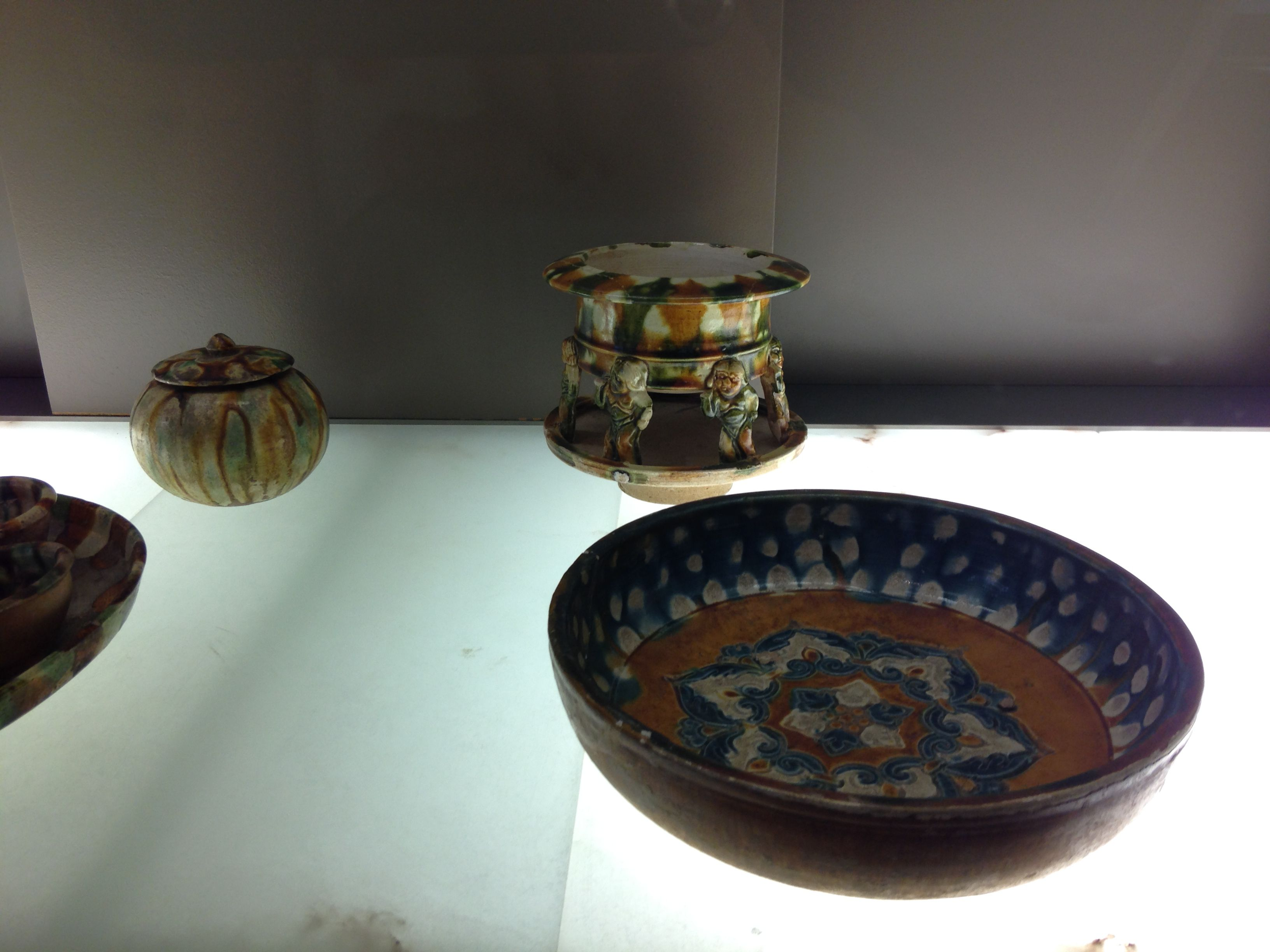 Plat - brûle-parfum. Dynastie Tang