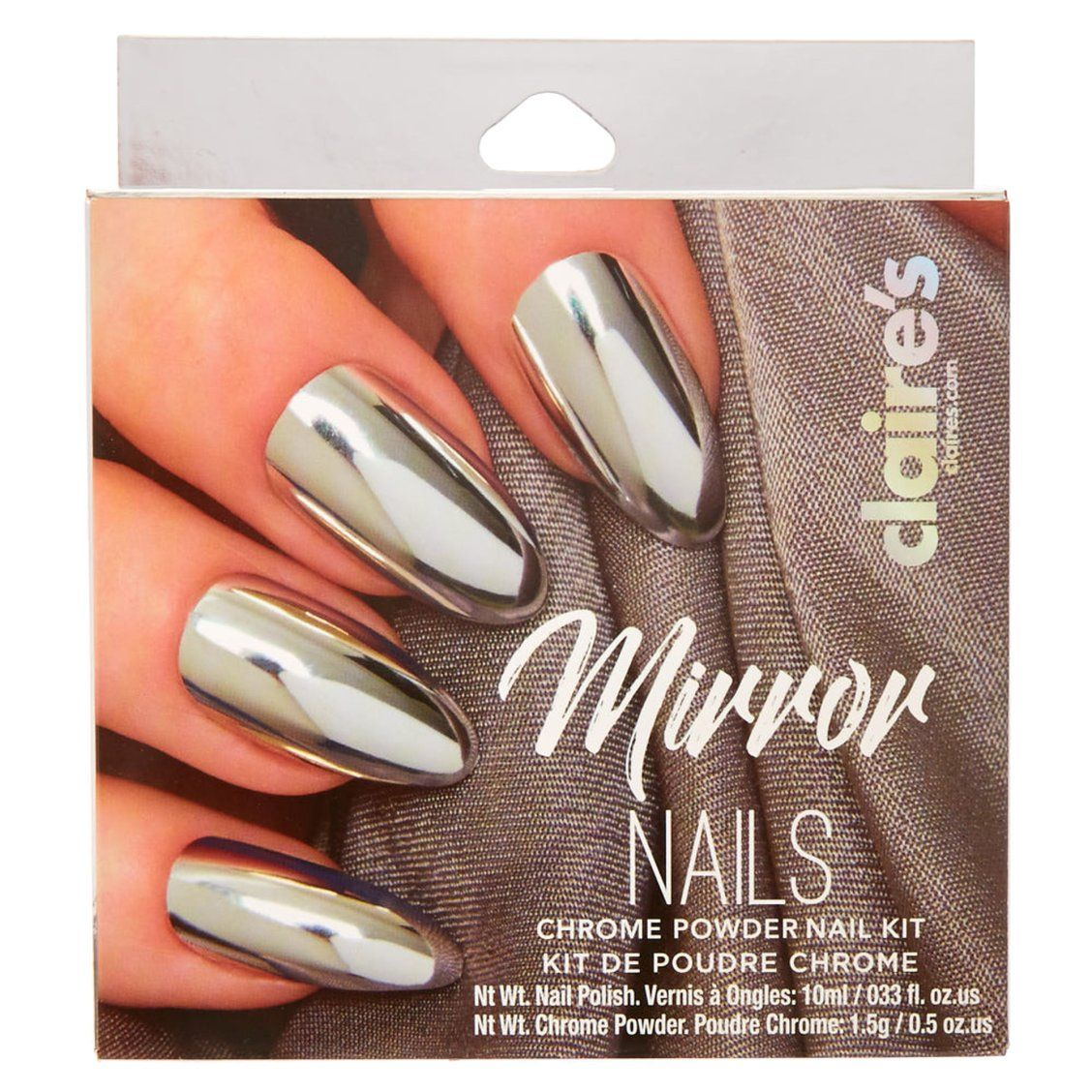 Chrome Powder Nail Kit | Get the glitterest of nails with this ...
