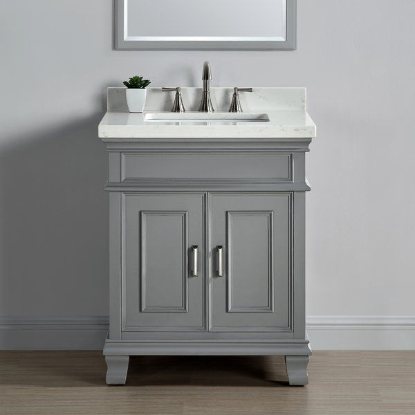 "Anneke 28"" Single Bathroom Vanity Set  Bathroom Vanities Single Unique Bathroom Cabinet Reviews Decorating Inspiration"