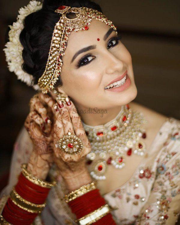 Von feucht bis schimmernd: Alle glamourösen Braut-Make-up
