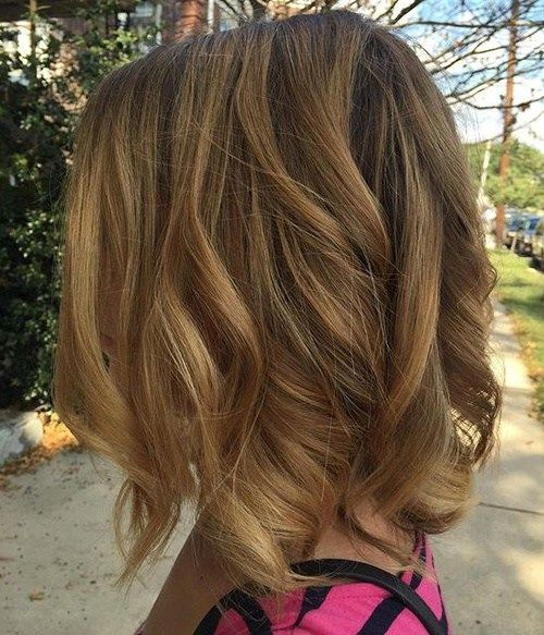 New Hair Color Medium Golden Brown