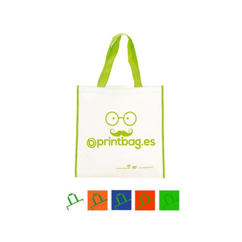 15a1c3fea Bolsas pet reciclado blanco baratas personalizadas Bolsas Reciclables,  Bolsas Ecologicas, Bolsas De Compras,