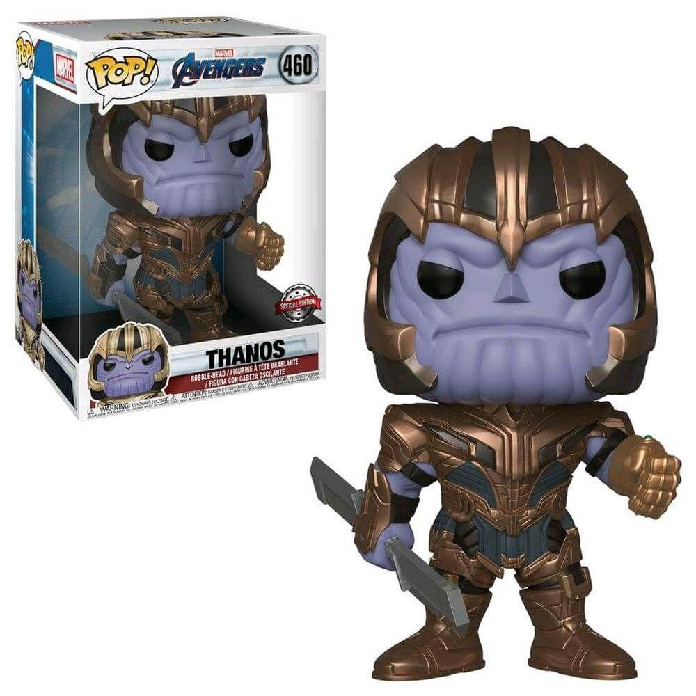 Marvel Avengers Endgame Thanos 10 Inch Exc Funko Pop Vinyl In 2020 Funko Pop Avengers Pop Marvel Avengers