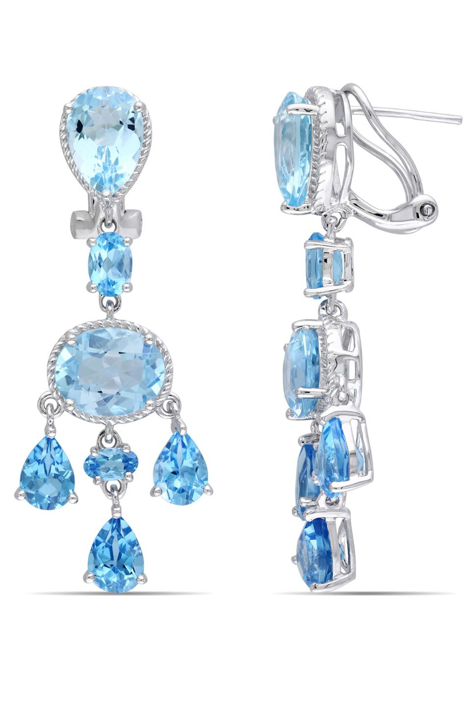Eclipse 19166 ct blue topaz chandelier earrings in silver jewelry eclipse 19166 ct blue topaz chandelier earrings in silver aloadofball Image collections