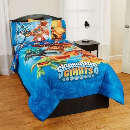 Conner Skylanders Comforter Comforters Toddler Bed Boy S Room