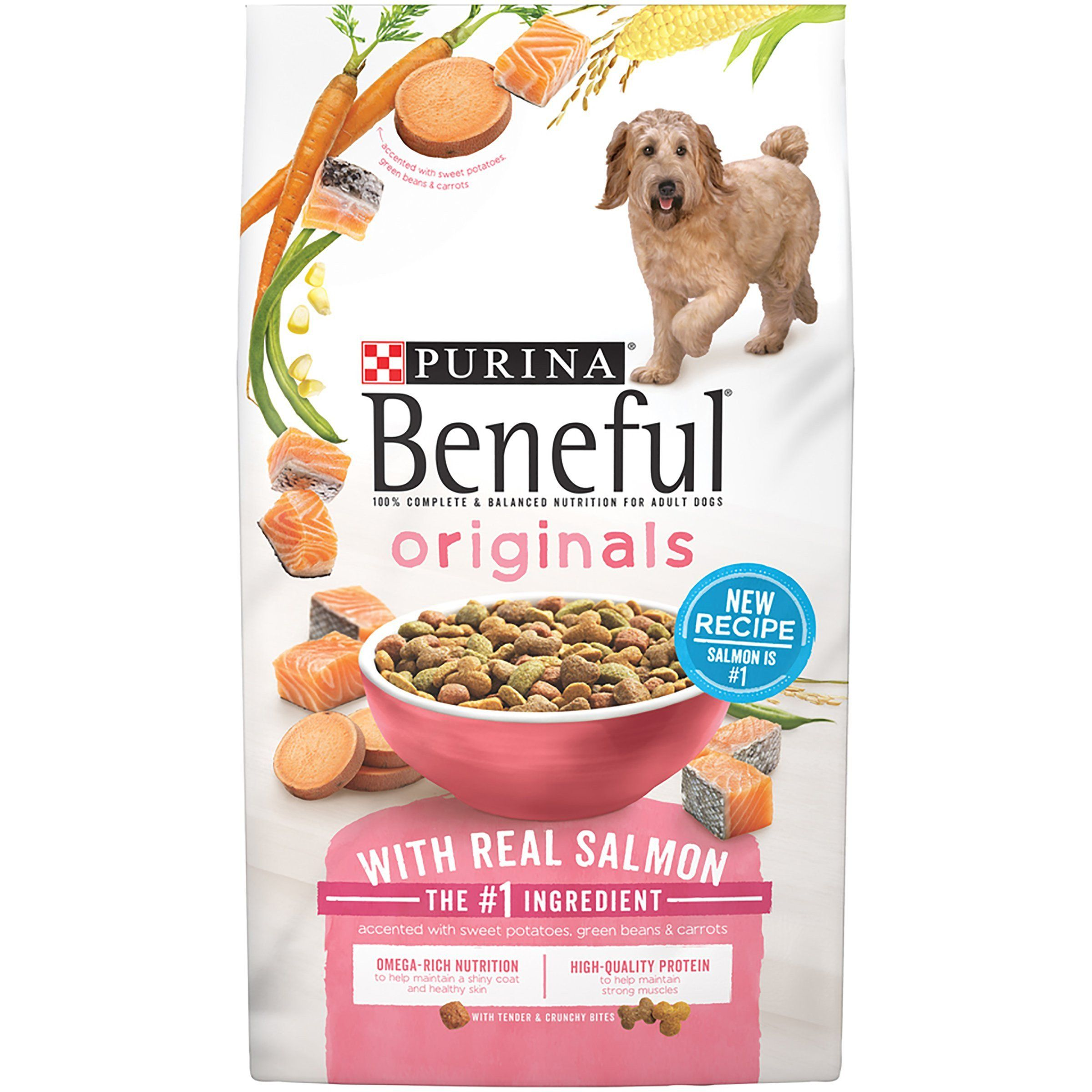 Purina Beneful Originals With Real Salmon Standard Packaging 31 1