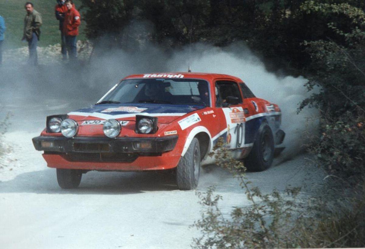 San Remo 1979 - Eklund Per - Sylvan Hans icon Triumph TR7 V8 ...