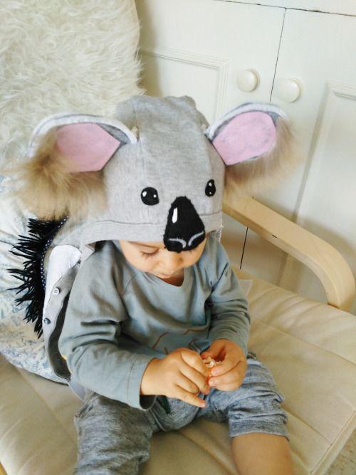 diy pour un d guisement de koala couture enfants pinterest d guisements deguisement. Black Bedroom Furniture Sets. Home Design Ideas