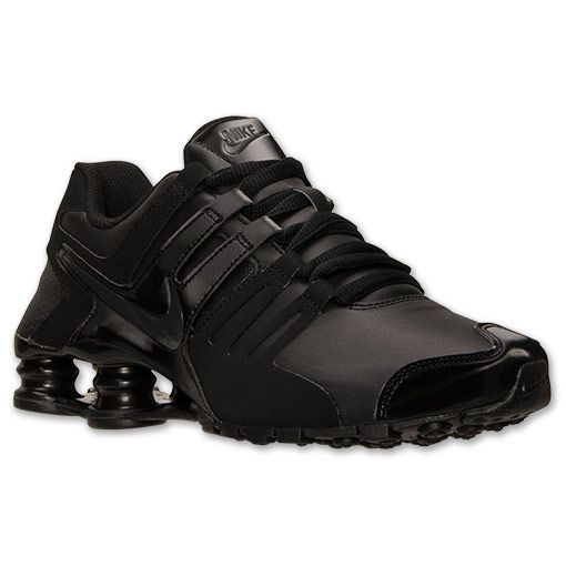 buy online 9a2c9 d2c15 ... Women s Nike Shox Current Running Shoes Finish Line Black Anthracite ...
