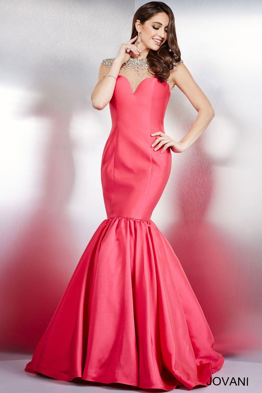Pretty in pink #Jovani 29327 | Jovani Evening 2016 | Pinterest