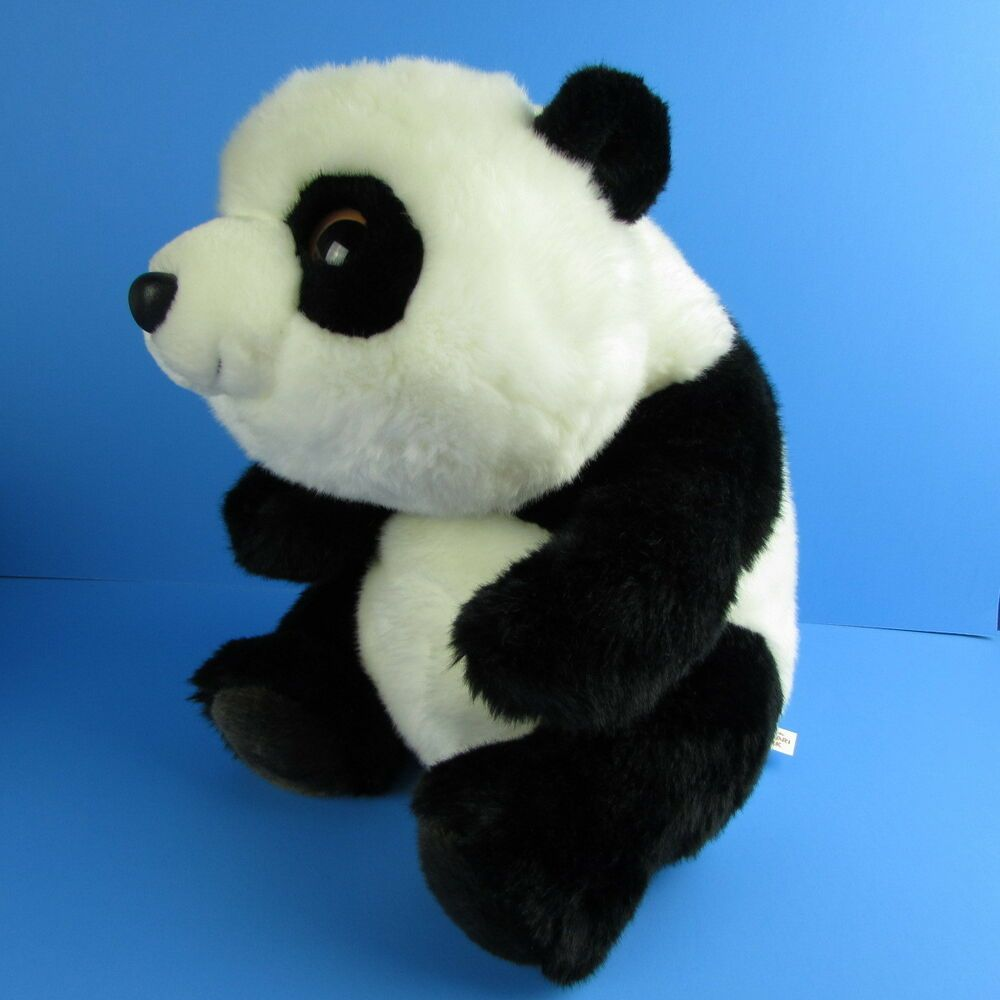 Aurora Panda 12 Bean Bag Plush San Diego Zoo Safari Park Aurora