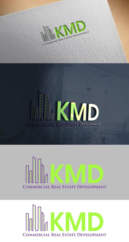 KMD Commercial Real Estate Development Bold, Modern Logo Design by