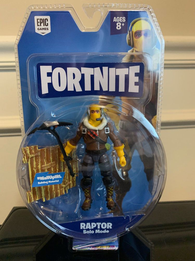New Fortnite Solo Mode Core Action 4 Figure Raptor Toy