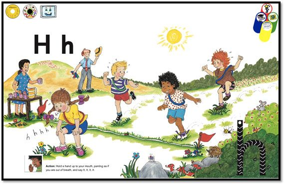 Term 1 Week 5 Revision of s,a,t,i,p,n and new letter h
