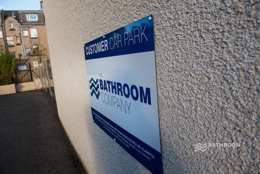 The Bathroom Company car park signage | Bathroom companies ...
