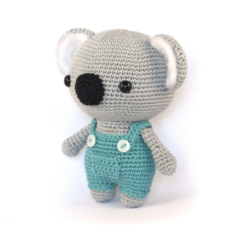 Cute Koala Bear amigurumi pattern by DIY Fluffies | Pinterest ...