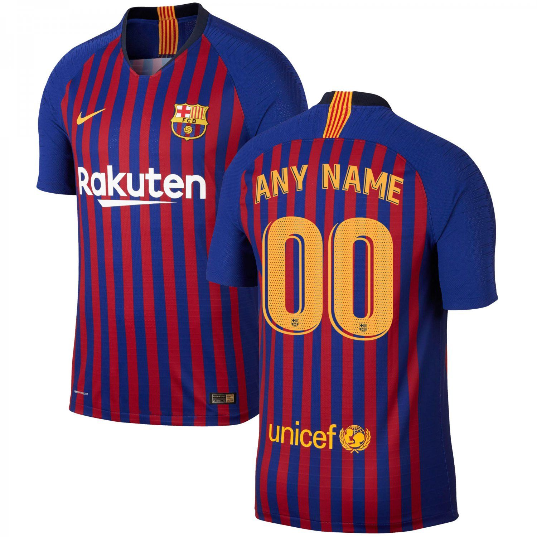 new arrival efcda 2ccd2 FAN SHIRT Barcelona 2018/19 Home Custom Jersey | Christmas ...