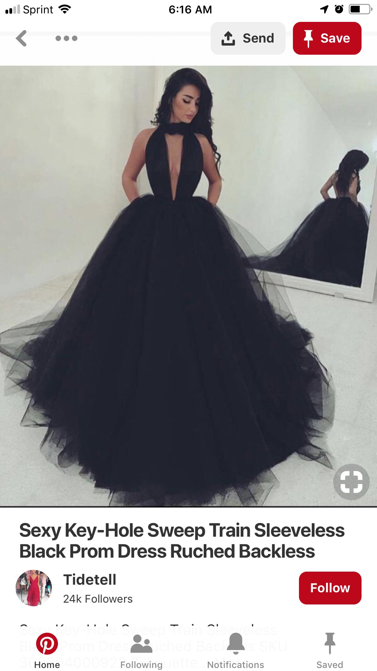 Pin By Shay Raymond On Kayla S Sweet 16 Black Prom Dress Prom Dresses Formal Dresses Long [ 2208 x 1242 Pixel ]