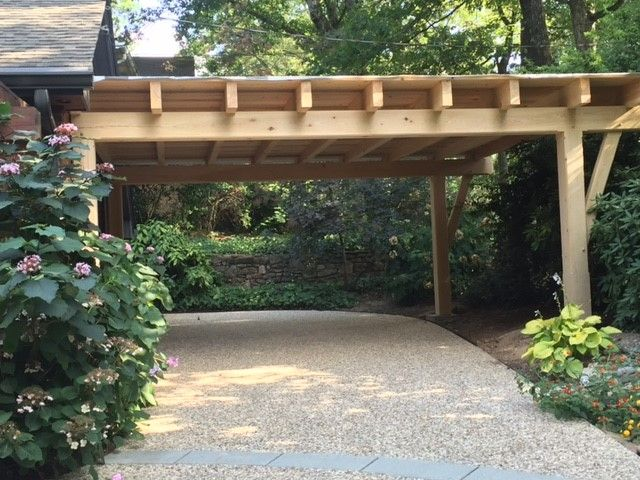 Timber Framed Carports Living Spaces Outdoor Living And