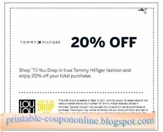 Free Printable Tommy Hilfiger Coupons Tommy Hilfiger