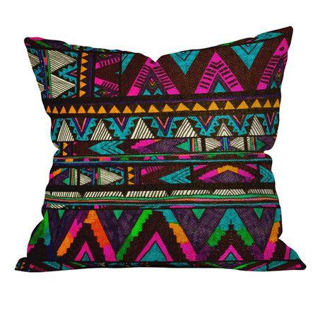 Kris Tate Huipil 1 Throw Pillow