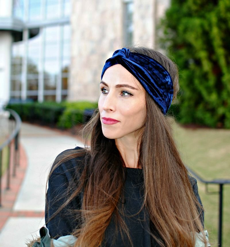 Diy Velvet Turban Headband Turban Headbands Headband