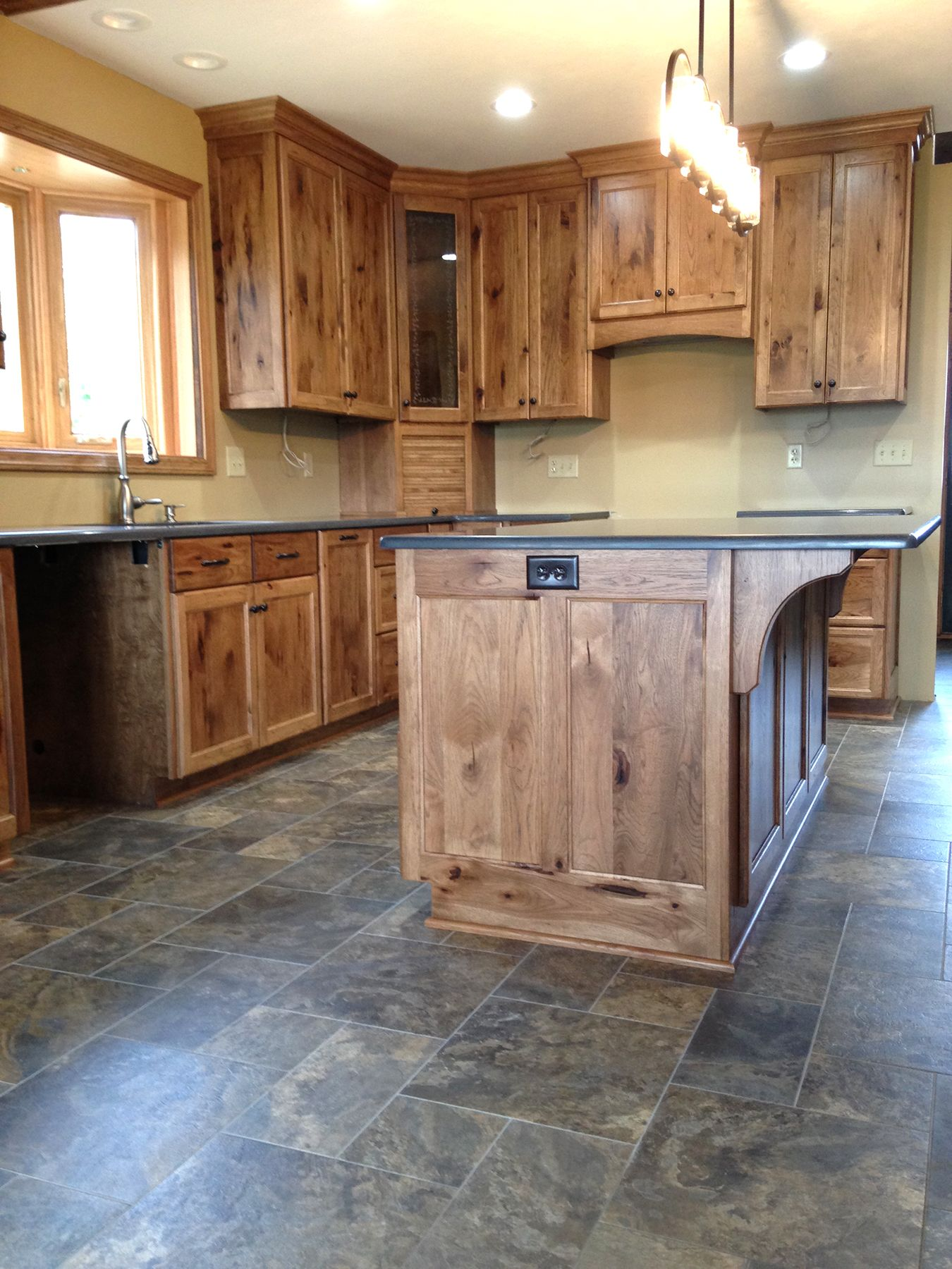 Hickory Kitchen Cabinets Hickory Kitchen Cabinets Hickory Kitchen Farmhouse Style Kitchen