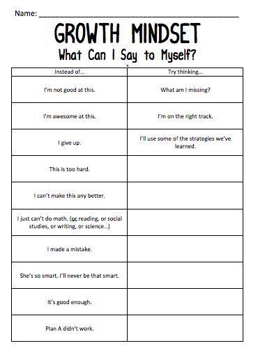 Improving Self Worth Worksheets