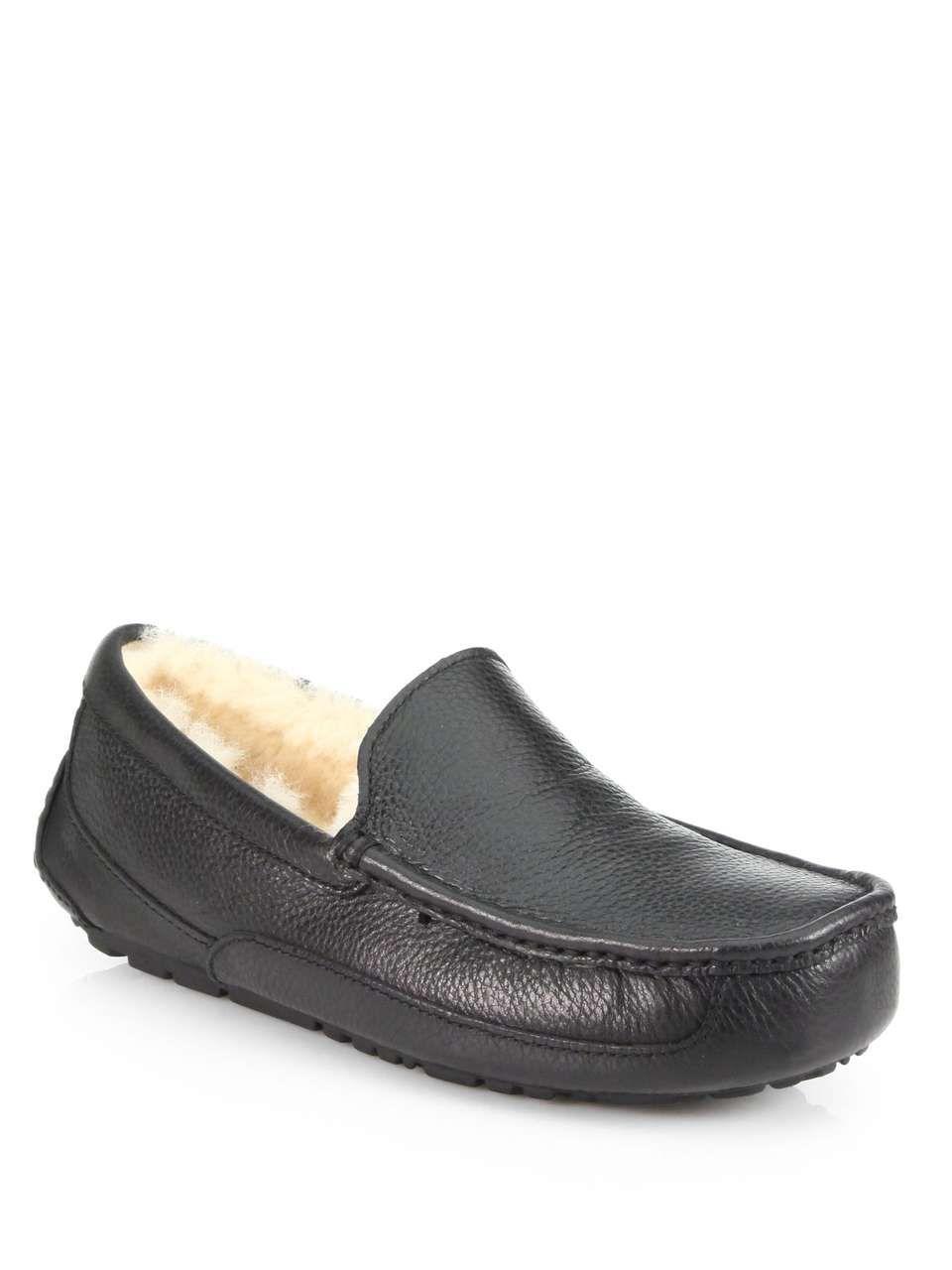 UGG Australia Ascot Sheepskin Slippers