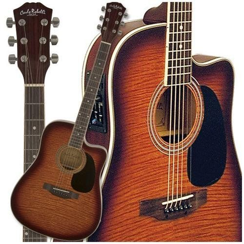 Save 10 Order Now Carlo Robelli W4103fcs Acoustic Electric Guitar Flame Coffe Acoustic Electric Guitar Best Acoustic Guitar Acoustic Instrument
