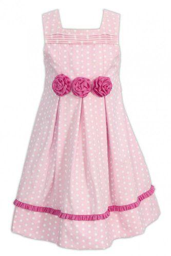 6b44c41ce6641d La-V La-V festliches Mädchen-Kleid Kleider: Amazon.de: Bekleidung