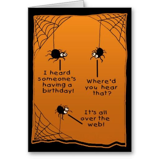 Funny halloween birthday card birthday cards pinterest funny halloween birthday card bookmarktalkfo Images