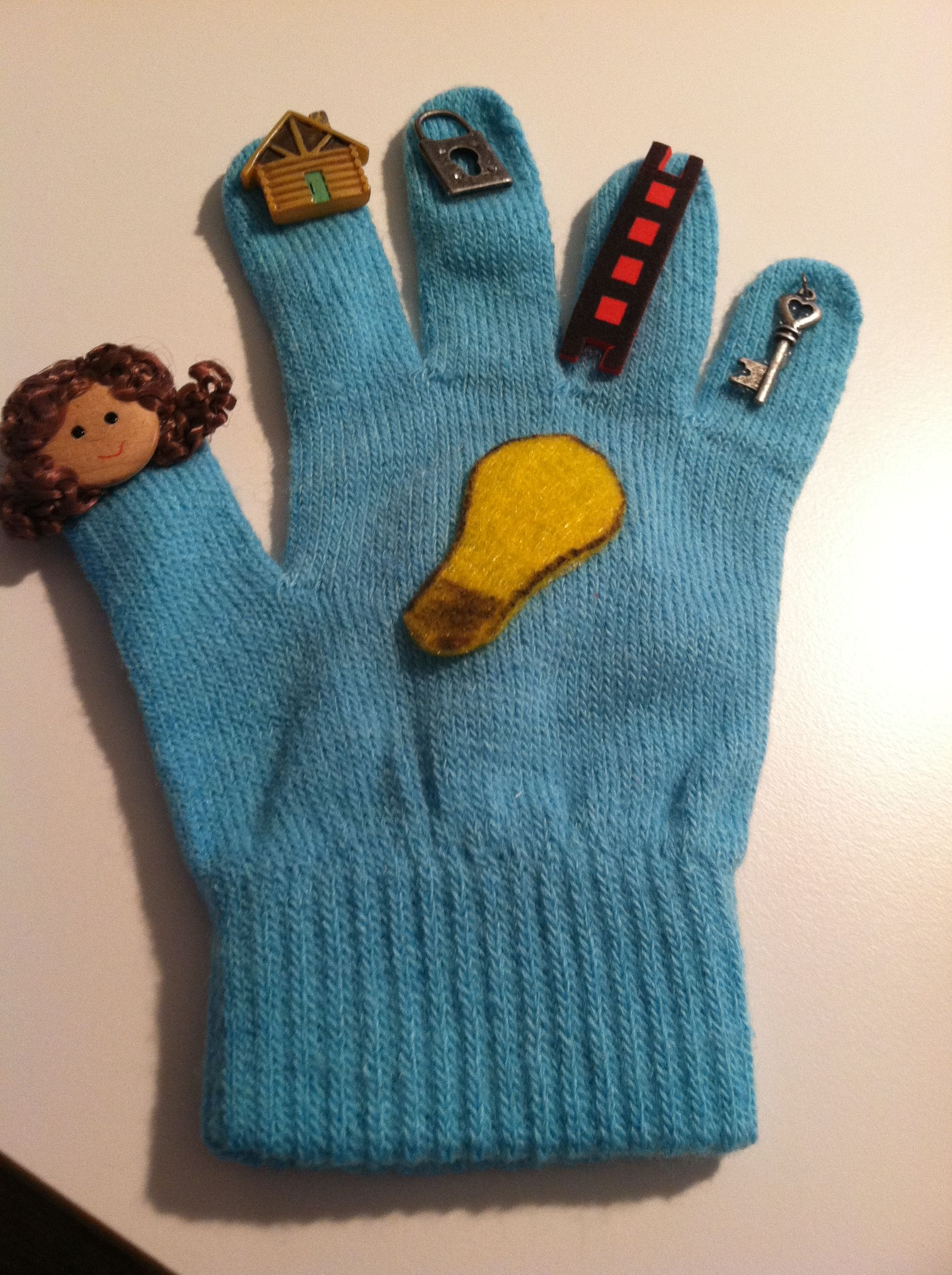 Story Elements Retelling Glove