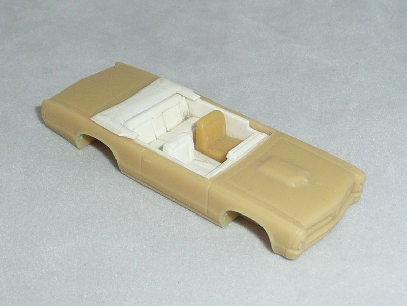 Matchbox Pontiac GTO Resin Prototype by George Turner for Unissued Model