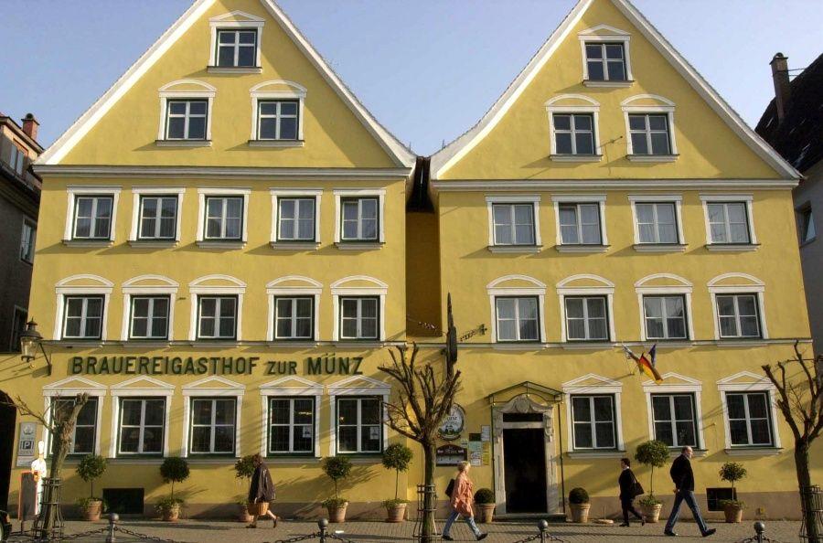 Brauereigasthof Zur Münz Dating From 1586 This Family Friendly