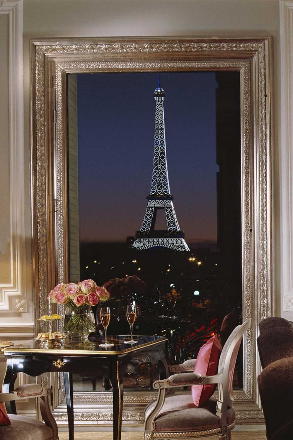 17 Instagrammable Paris Hotels With Eiffel Tower Views Paris