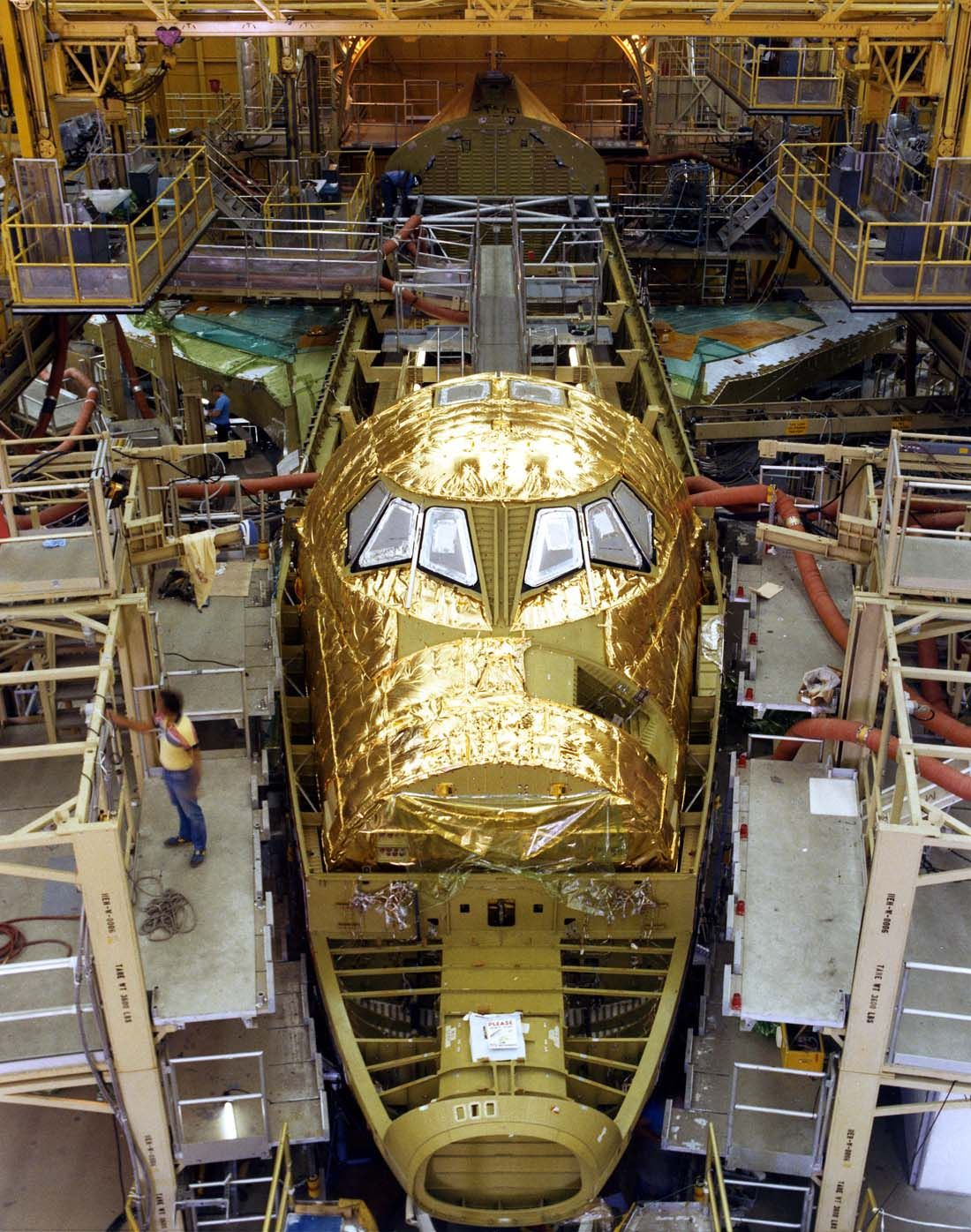 building a nasa spaceship - photo #2