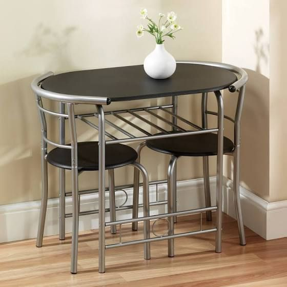 2 seater kitchen table set stainless steel garbage can dining home decor pinterest and