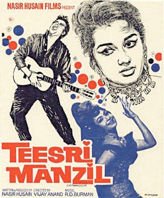 Image result for teesri manzil poster