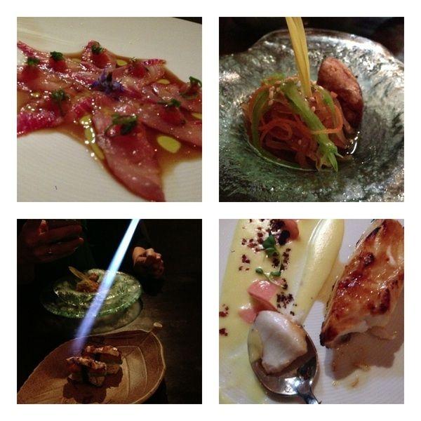 Gr8 Nikkei dinr @ Maido: classic tiradito,hot-cold cuy,tableside torched nigiri,black cod w local potato/Aji amarillo