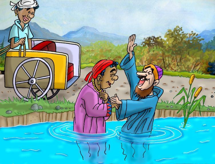 El Encuentro De Felipe Y El Etiope Ensena El Gran Amor De Dios Dios Envia A Felipe Al Desierto Felipe Y El Etiope Escuela Biblica De Vacaciones Reglas De Oro