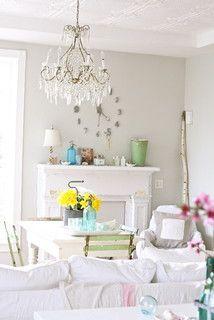 incredible shabby chic apartment decor | sherwin williams incredible white | Paris home decor ...