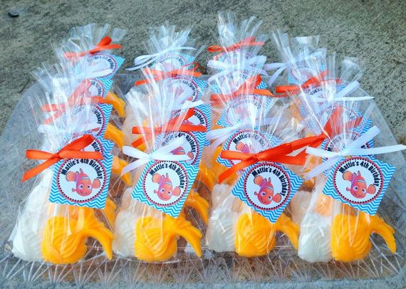 nemo birthday party decorations | SOAP FAVORS (20 Soaps) - Nemo, Dory, Dr. Seuss Inspired Birthday Party ...