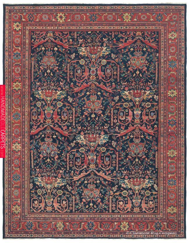 Sultanabad 10ft 8in X 13ft 8in Circa 1925 Rugs On Carpet Rugs Sultanabad Rug