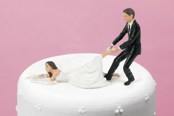 Reluctant Bride Cake Topper Bride Cake Topper Funny Wedding Cake Toppers Wedding Cake Toppers