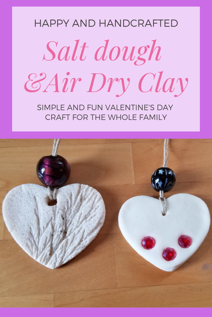 Easy Valentine's Day craft.