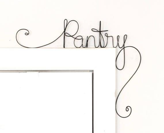 Unique Pantry Door Sign Unique Over the Door by kraze4paper ...