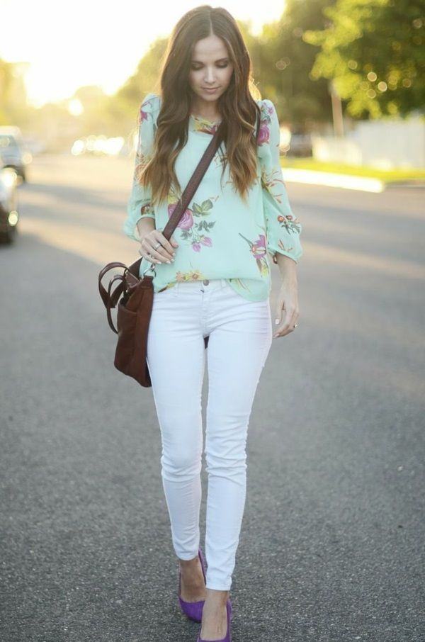 d79f9e1b967f Perfect Outfit Ideas with White Jeans (11)